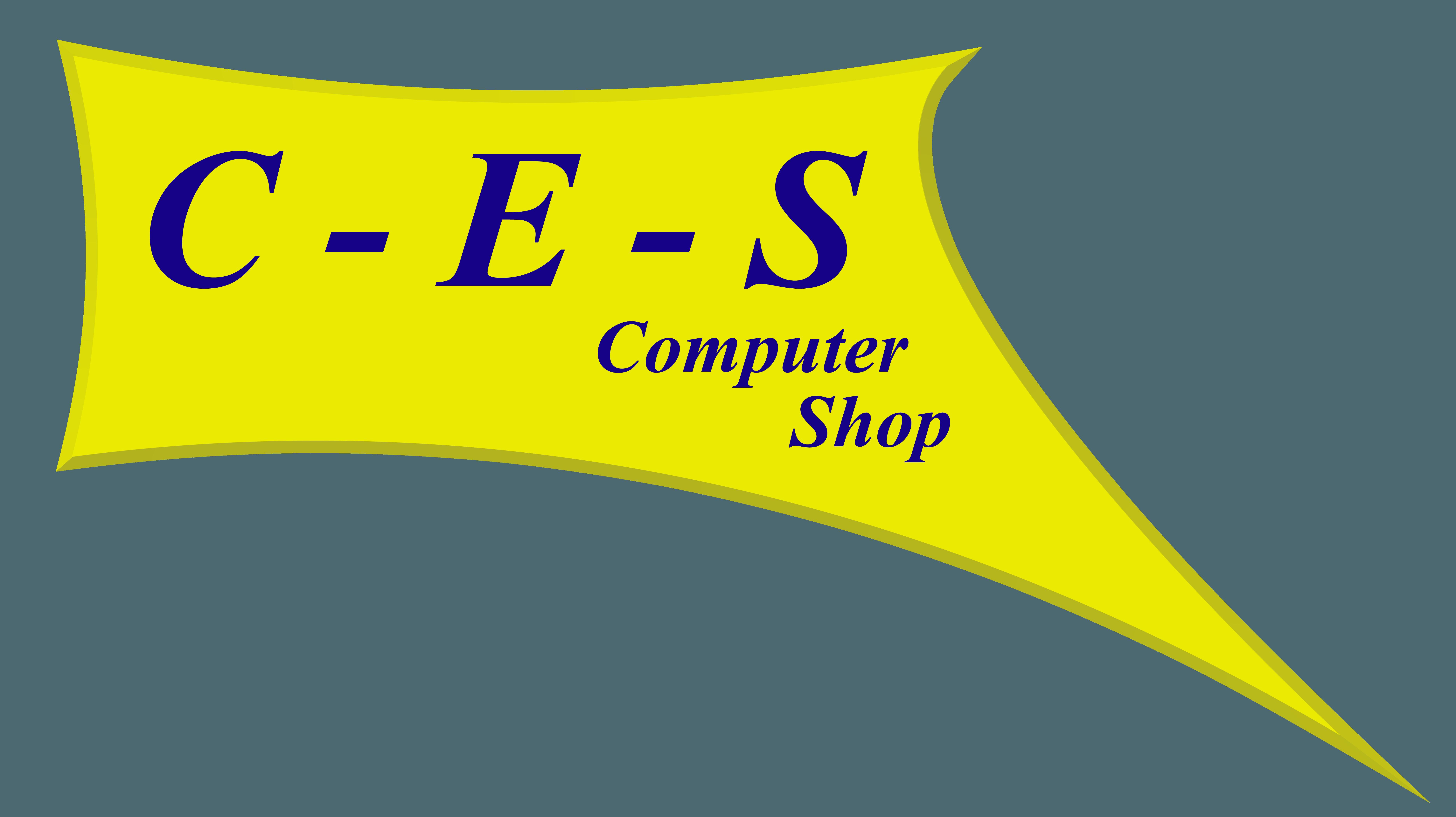 C-E-S Computer Logo