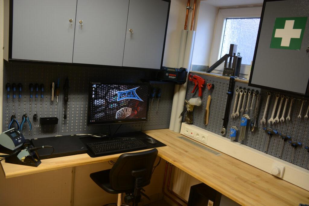Unsere Werkstatt in Langerwehe