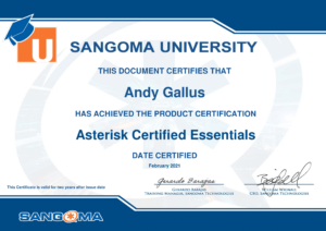 Asterisk Certified Essentials