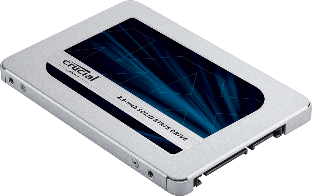 "Crucial MX500 2,5"" SSD"
